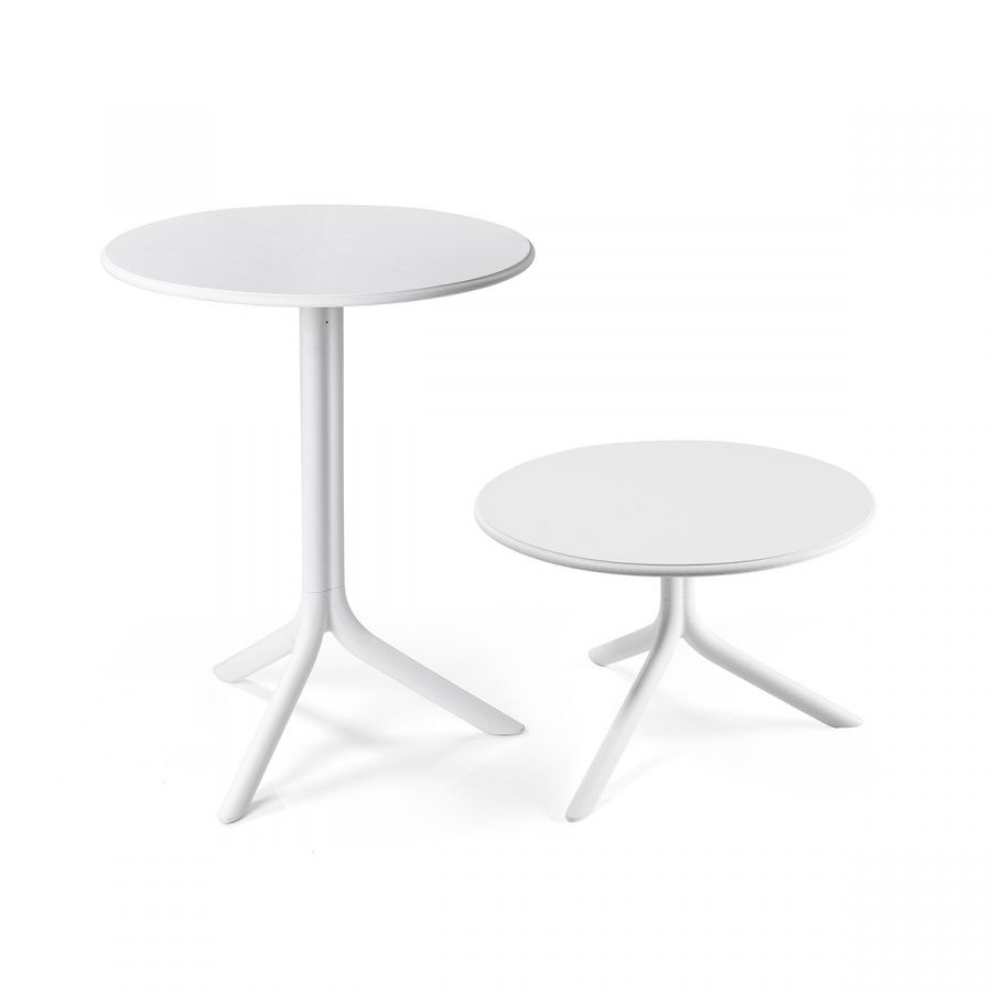 Spritz side table in white