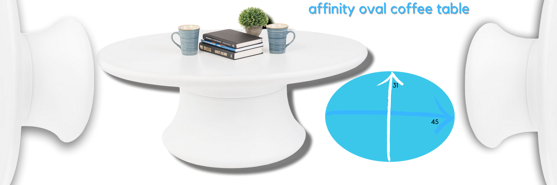 Ledge Lounger Affinity Coffee Table