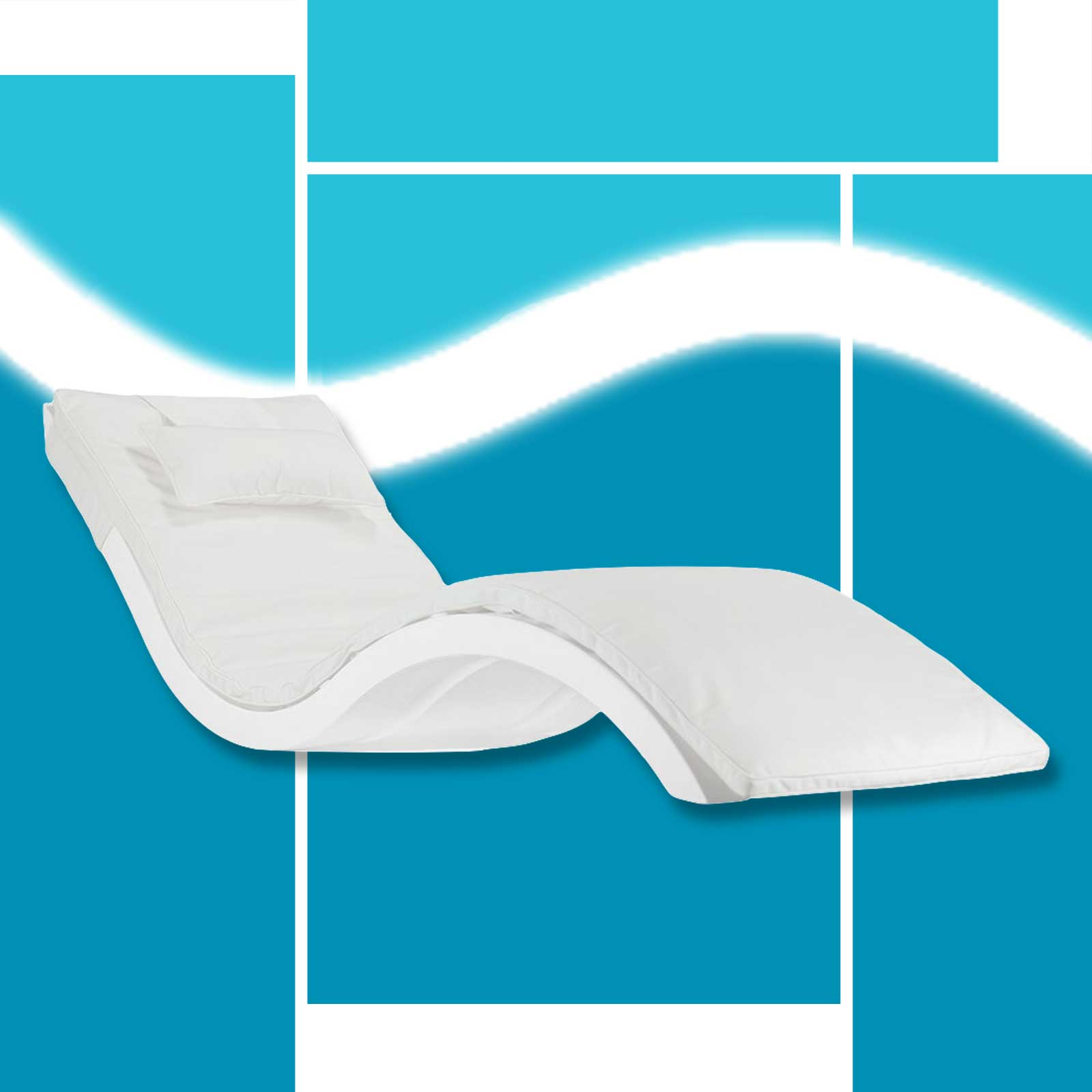 Ledge Lounger Full Body Cushion for the Signature Chaise