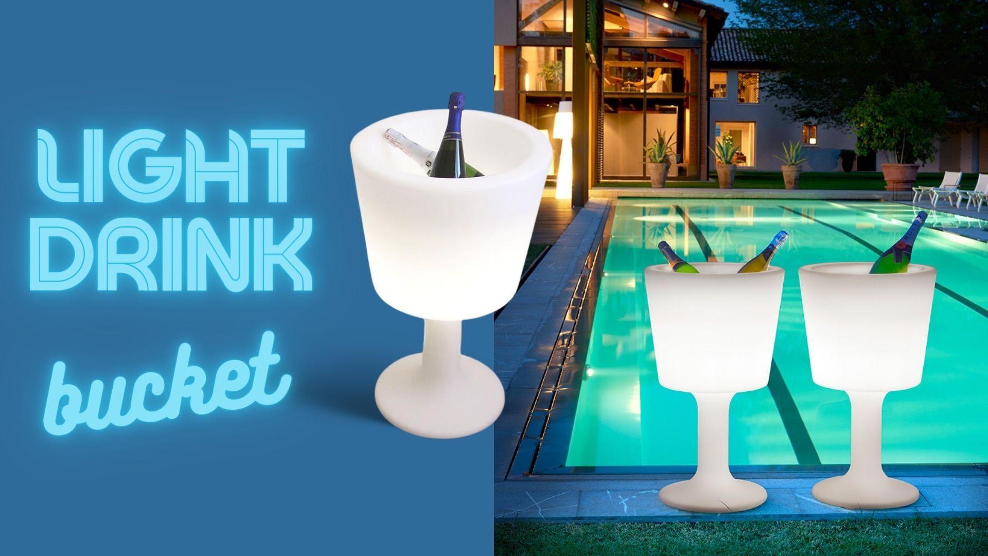 lighted-drink-ice bucket-by-slide