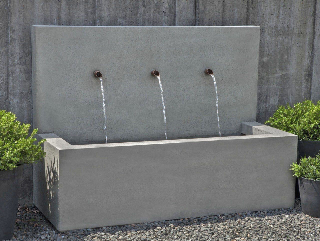 Campania Long Beach Fountain GFRC Concrete