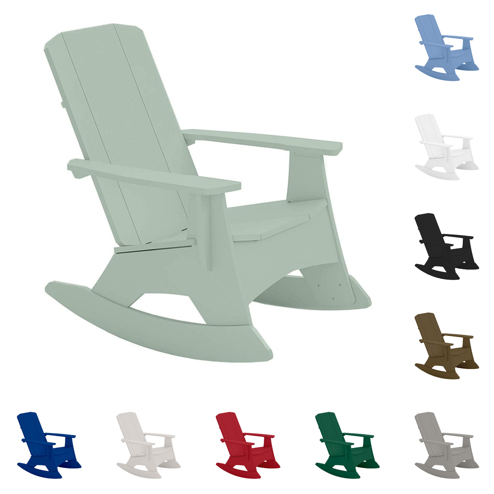 The Mainstay Adirondack rocker is a customer favorite because of its durability and comfort