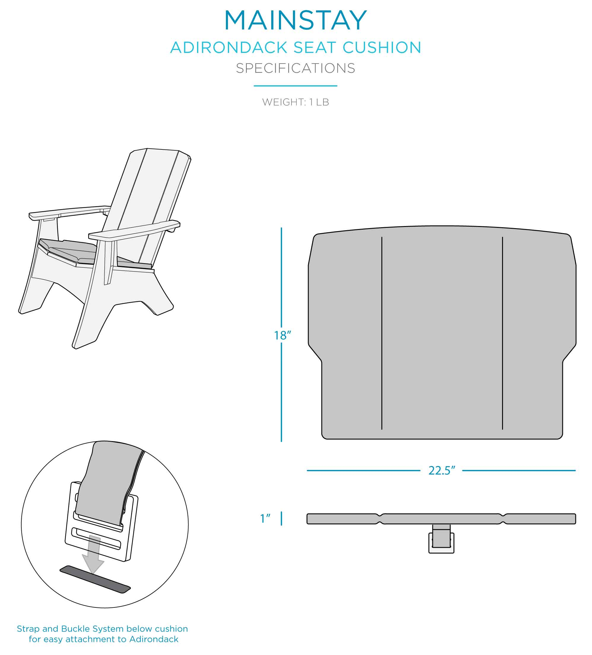 mainstay-adirondack-seat-cushion-specifications