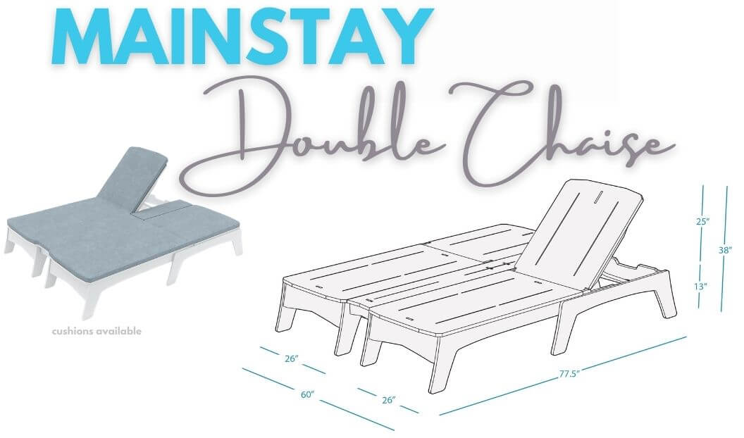 mainstay-double-chaise-with-cushion