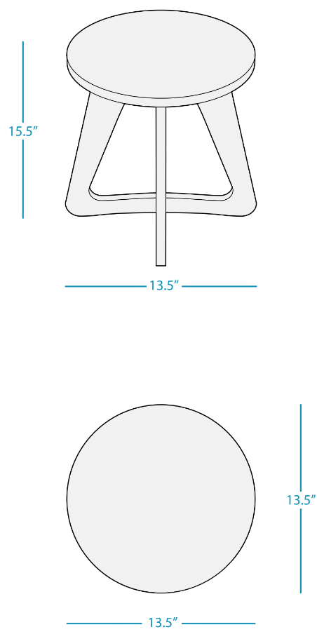mainstay-stool dimensions