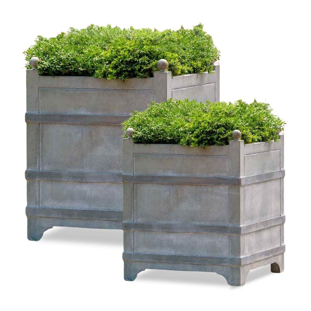 manoir-zinc-planter-set