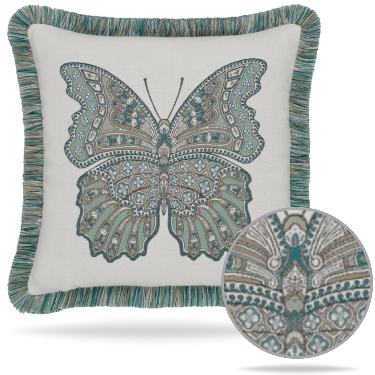 mariposa-lagoon-pillow from Elaine Smith