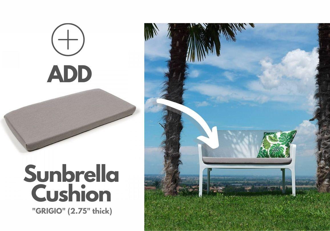 nardi-sunbrella-grigio-bench-cushion