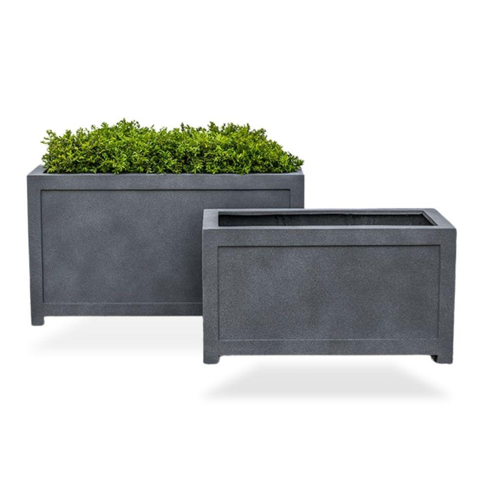 oxford-rectangle-trough planter english-lead