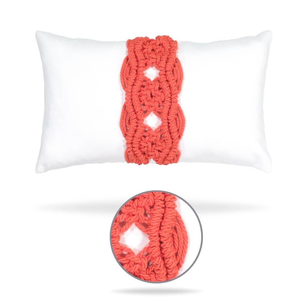 palomar-melon lumbar pillow front