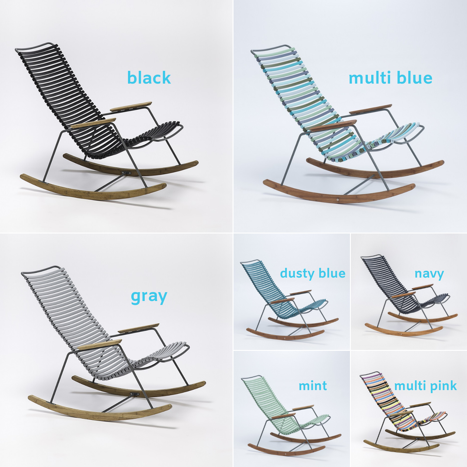 Playnk Rocking Chair Color Options