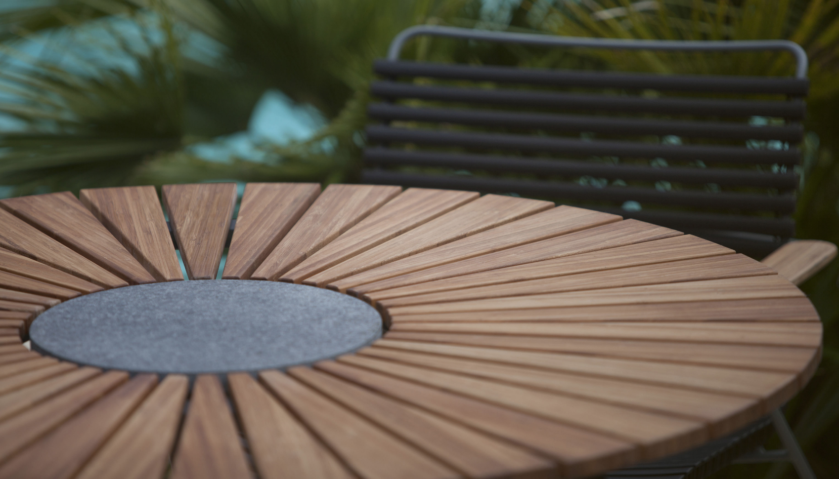 The Playnk Round Dining Table from Ledge Lounger and HOUE