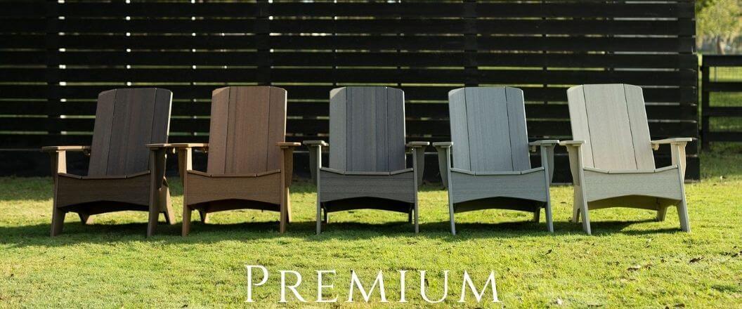 premium-woodgrain adirondacks-ledge-lounger