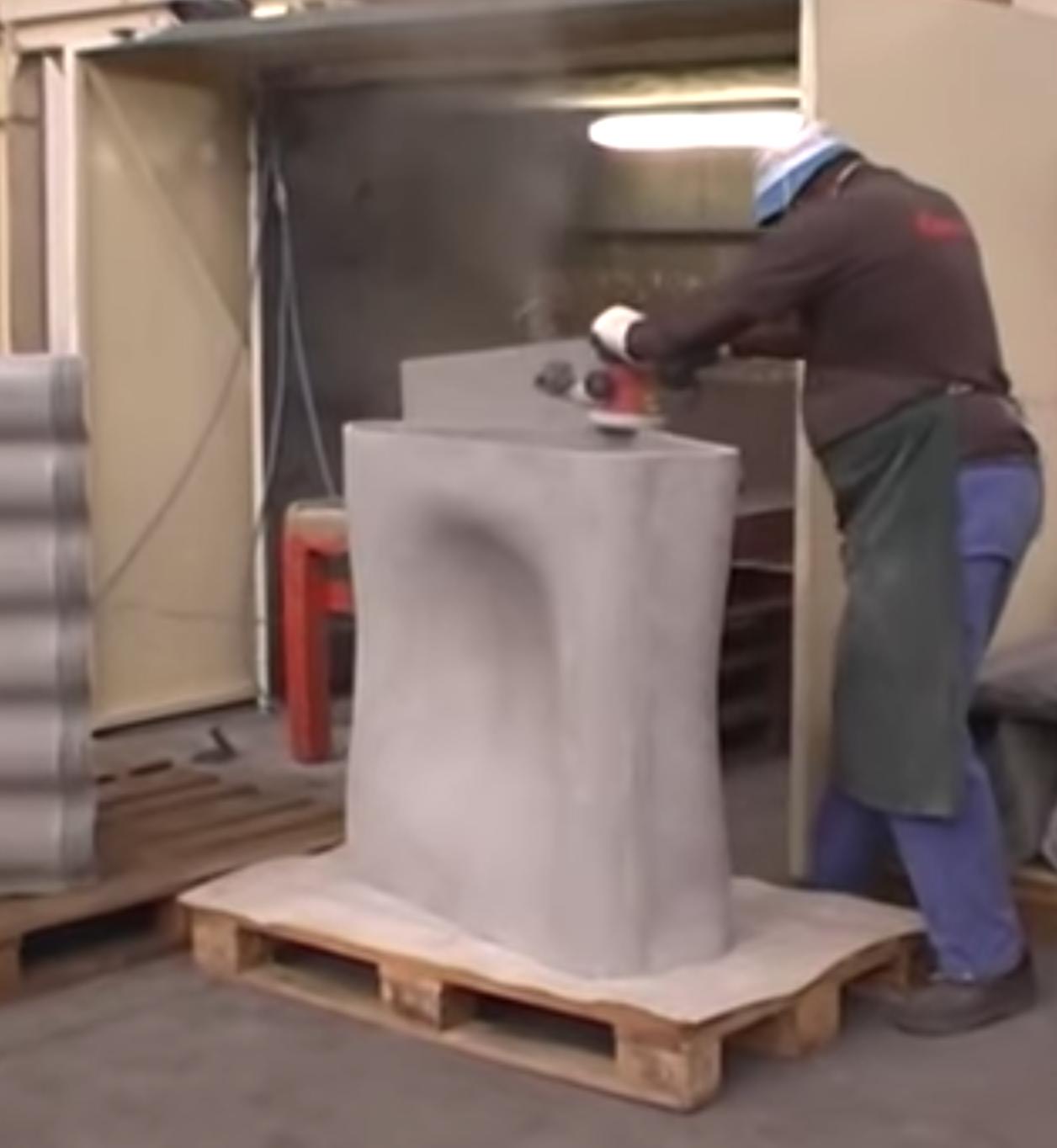 Dune Furniture Series fabrication