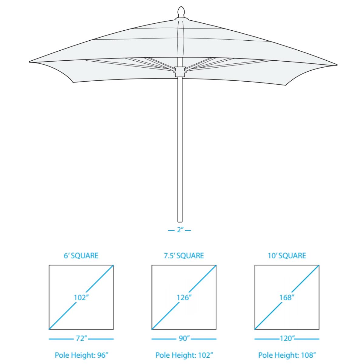 select-umbrella-square-size options