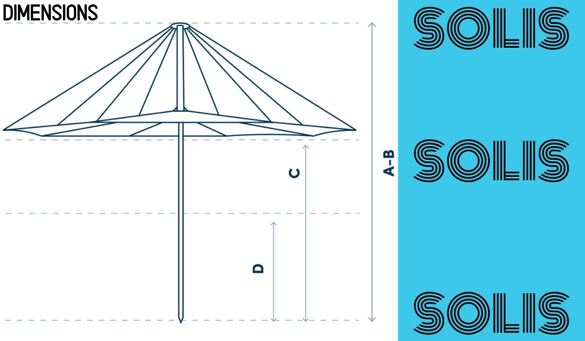 solis-umbrella-dimensions