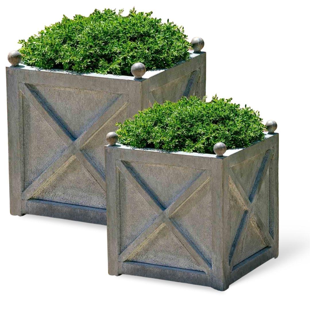 square-villandry-zinc-planter-set