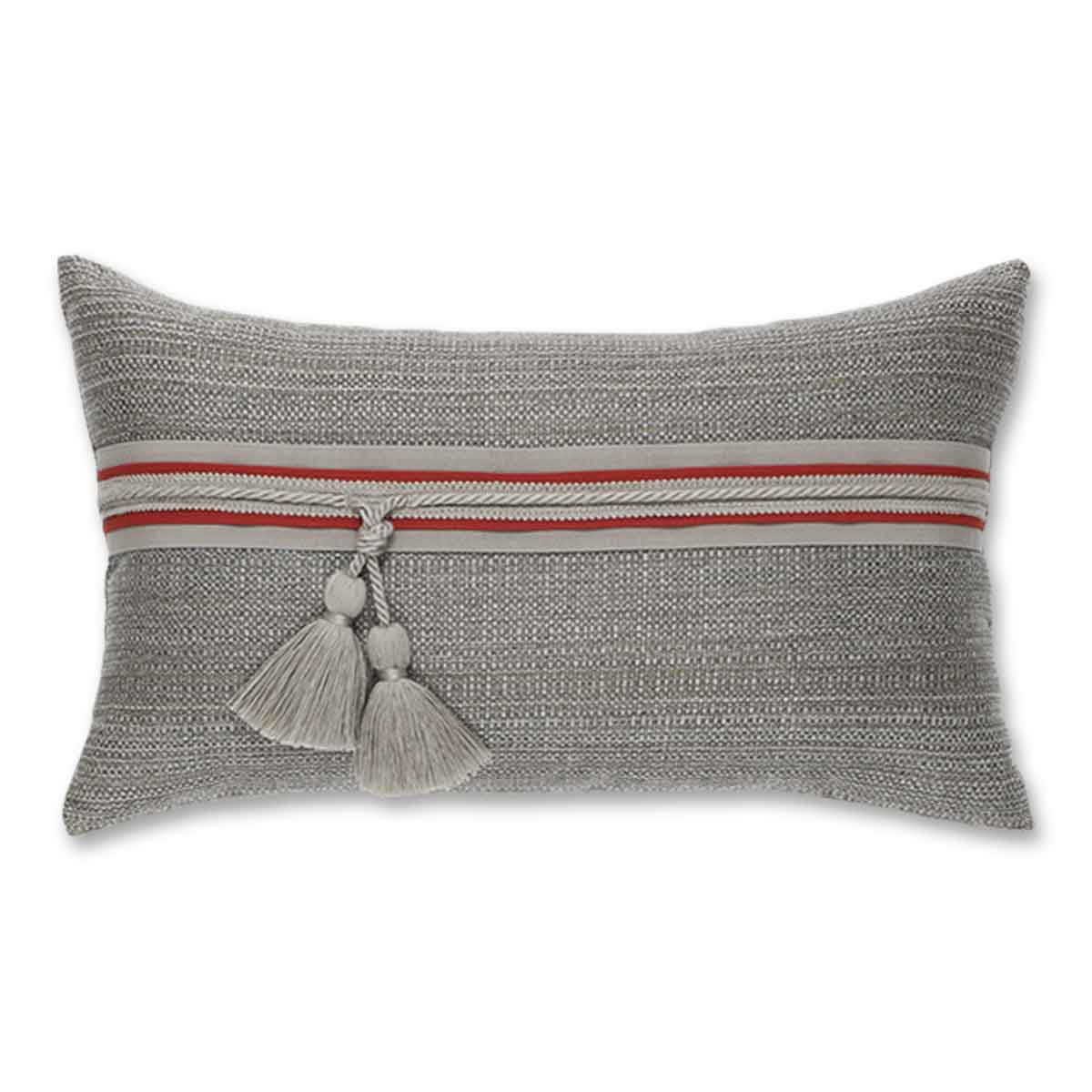 textured-smoke-lumbar pillow by Elaine Smith