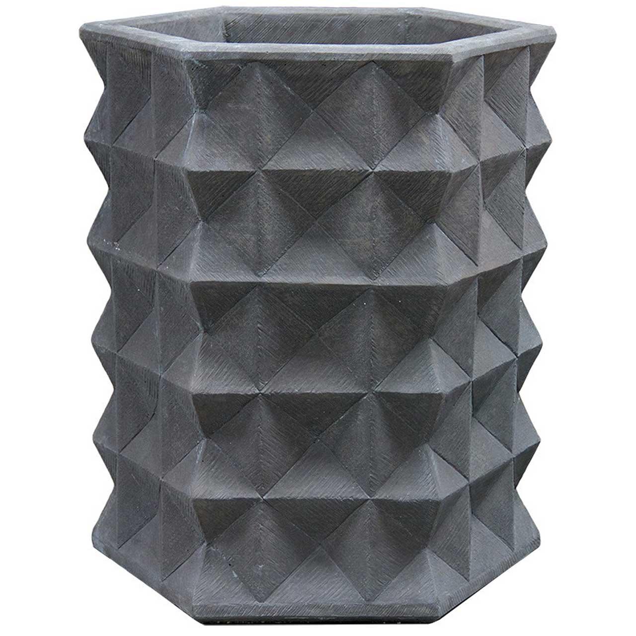 topaz-planter in black finish
