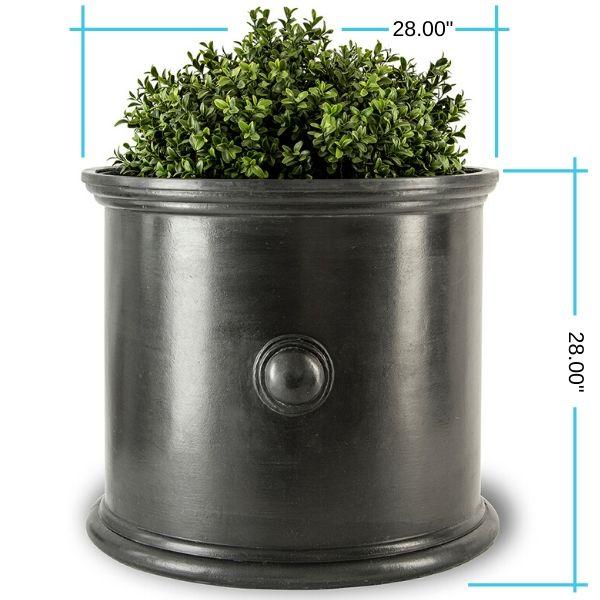 trafalgar-round-planter-28inch dimensions