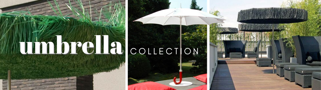Patio umbrella collection