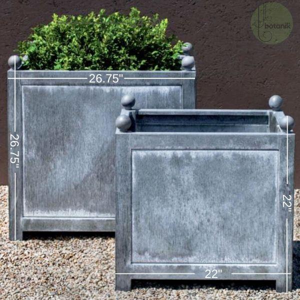 zinc-square-boxhill-planter-dimensions