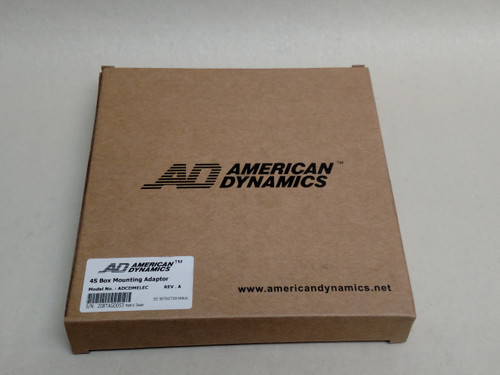 New American Dynamics ADCDMELEC 4S Electrical Box Mount Adapter (White)