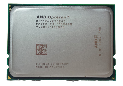 Lot of 5 AMD Opteron 6174 2.20GHz Socket G34 3200MHz Server CPU OS6174WKTCEGO