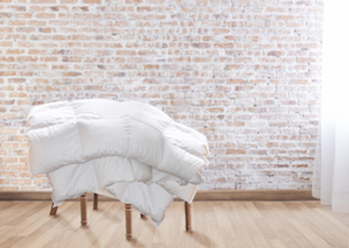 Goose Down Comforter All-Season QUEEN (European size 95x87 inch / 240x220cm)