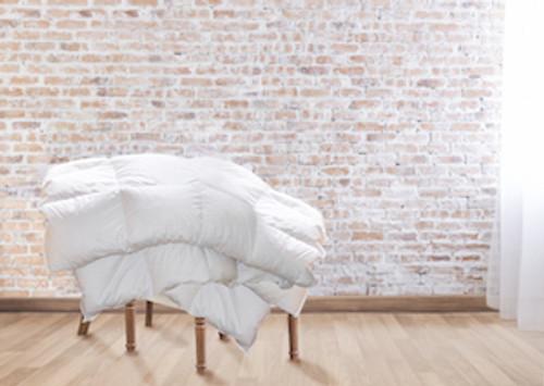 Goose Down Comforter All-Year EURO TWIN LONG (53 x 87 inch / 135x220cm)