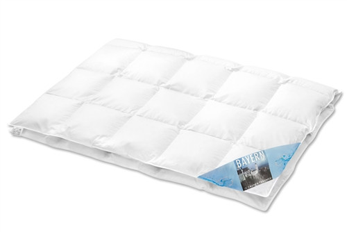 * on back order * Goose Down Comforter Lightweight EURO TWIN - long - (European size 53 x 87 in ch / 135x220cm)