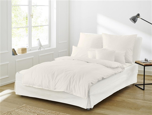 Twin Duvet Cover Set PARIS off-white
