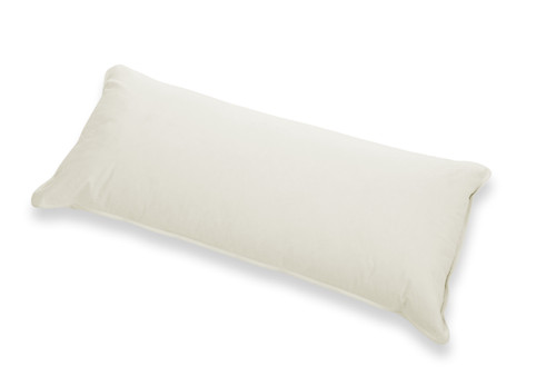 Organic Goose Feather Down Pillow Twin / Queen Standard Size