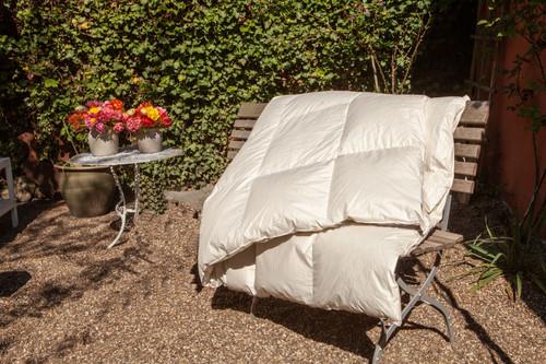 Organic Goose Goose Down Comforter All Season US King 108x98 inch