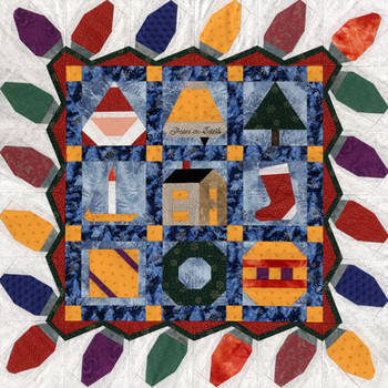 Peace on Earth Paper Pieced Quilt Pattern