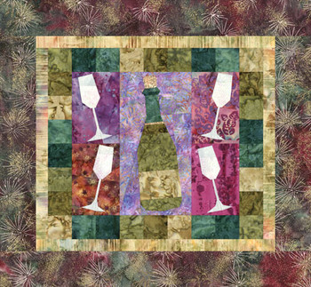 Happy New Year Paper Pieced Quilt Pattern