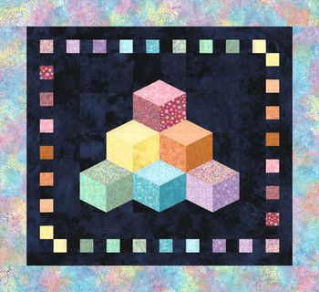 Baby Blocks Paper Pieced Quilt Pattern