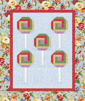 Lollipop, Lollipop Paper Pieced Quilt Pattern