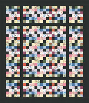 Easy Pixelations Quilt Pattern