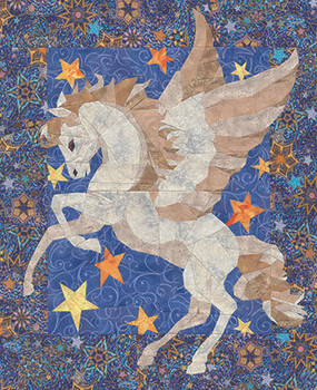 Flight of Pegasus Paper Pieced Quilt Pattern