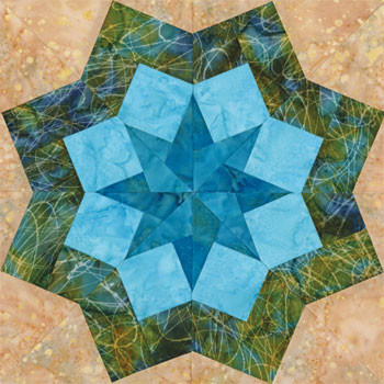 New York City's Eternal Light Quilt Block Pattern