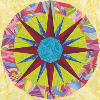 Capella Paper Pieced Quilt Block Pattern