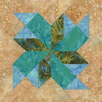 Quaint Saint Paul Paper Pieced Quilt Block Pattern