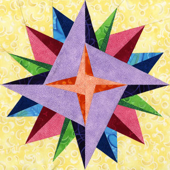 Seginus Paper Pieced Quilt Pattern