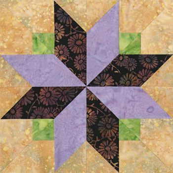Towers of London Paper Pieced Quilt Block Pattern