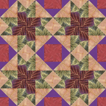 Chamber Music Allegro Paper Pieced Quilt Block Pattern