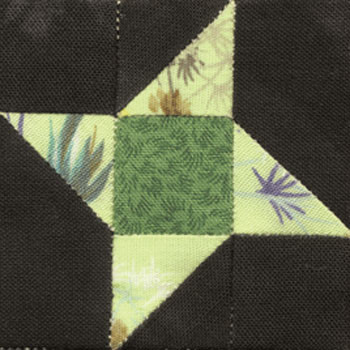 Friendship Star Paper Pieced Quilt Block Pattern