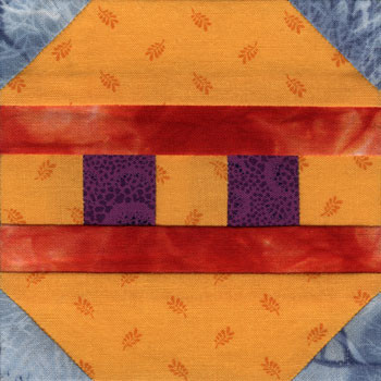 Ball Ornament Paper Pieced Quilt Block Pattern