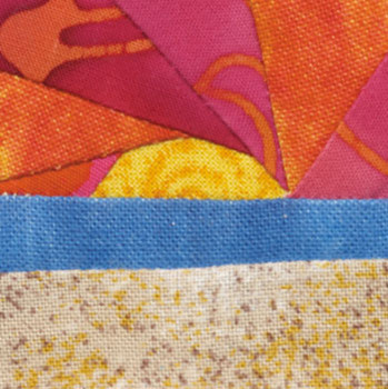 Beach Sunset Paper Pieced Quilt Block Pattern