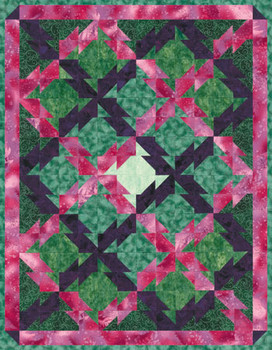 Thunder Creek Trail Paper Pieced Quilt Pattern